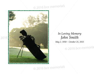 Golf Bag 1